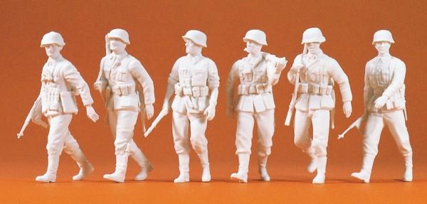 Preiser 64004 - Vorgehende Infanterie Deutsches Reich