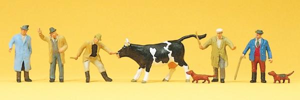 Preiser 10048 - Viehhandel