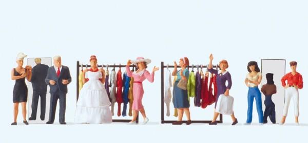 Preiser 10586 - H0 - In der Modeboutique