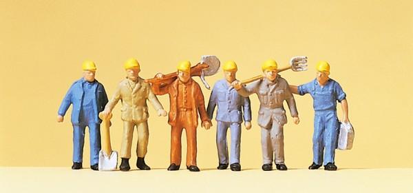 Preiser 14033 - H0 - Gleisbauarbeiter