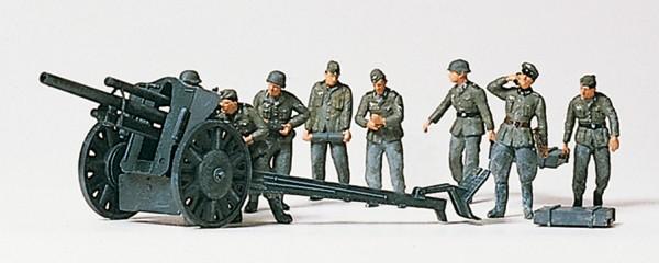 Preiser 16514 - H0 - Leichte Feldhaubitze 10,5 cm leFH