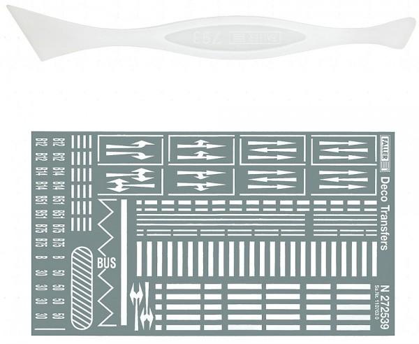 Faller 272451 - N - Strassenmarkierungen