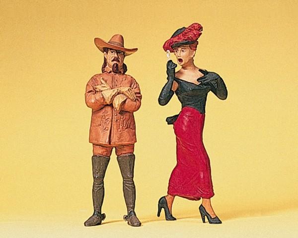 Preiser 45097 - G - Westernheld und Lady