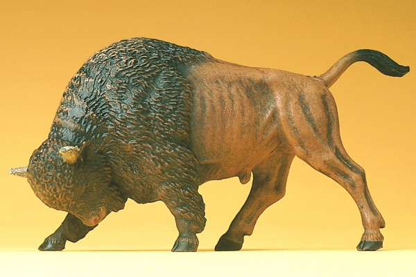 Preiser 47535 - Büffel stoßend