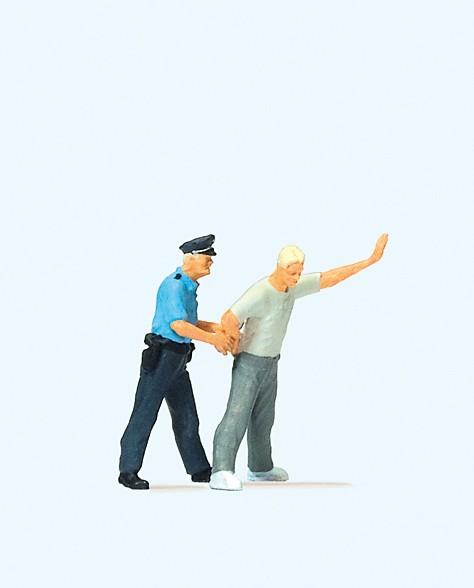 Preiser 28119 - H0 - Festnahme