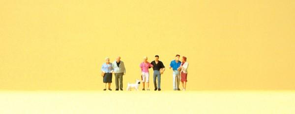 Preiser 88555 - Paare & Hund