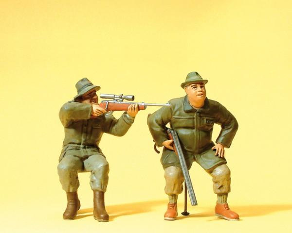 Preiser 45137 - Jäger sitzend