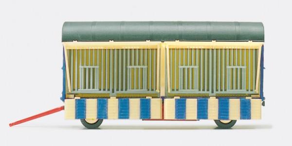 """Preiser 21019 - H0 - Käfigwagen """"Zirkus Krone"""" offen"""