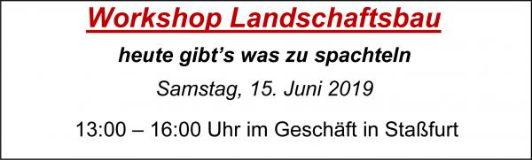MoBaLa-Sft - Workshop 06 - Landschaftsbau mit Spachtelmasse am Samstag, 15.06.2019