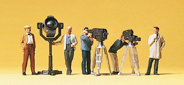 Preiser 10062 - Film- und Fernsehteam