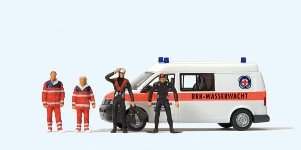 Preiser 33261 - H0 - VW T 5 BRK Wasserwacht Ortsverband Neustadt