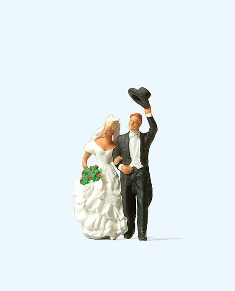 Preiser 28091 - H0 - Brautpaar