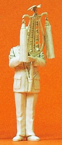 Preiser 64354 - 1:35 - Musiker mit Glockenspiel