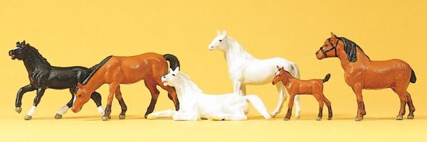 Preiser 10150 - H0 - Pferde