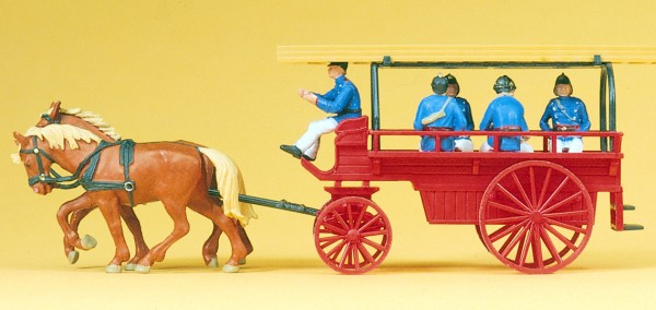 Preiser 30427 - H0 - Mannschafts- und Gerätewagen um 1900