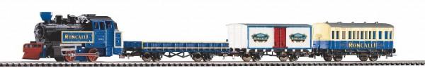 "Piko 57142 - H0 - Start-Set mit Bettung Güterzug ""Roncalli"" R/C"