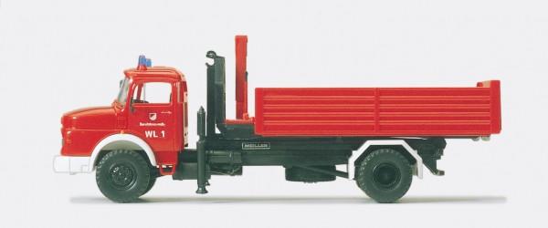 Preiser 35014 - H0 - Wechselaufbaufahrzeug WAF MB LA 1924, Fertigmodell