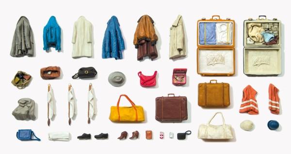 Preiser 45223 - G - Kleidungsstücke, Warnwesten, Taschen etc.