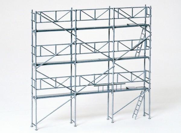 Preiser 17180 - H0 - Roll- und Fassadengerüst