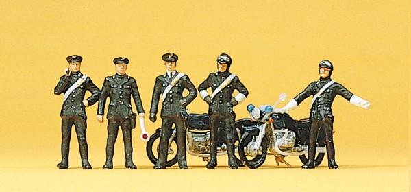 Preiser 10175 - H0 - Carabinieri, 2 Motorräder
