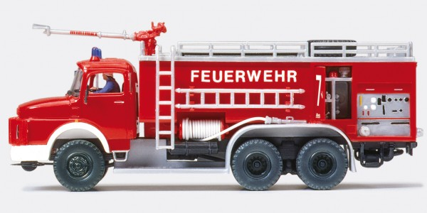 Preiser 31163 - H0 - Flugplatz-Tanklöschfahrzeug FTLF 8000 MB