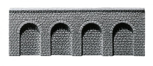 Faller 272640 - N - Arkaden Profi Naturstein Quader, 370 x 60 x 9 mm