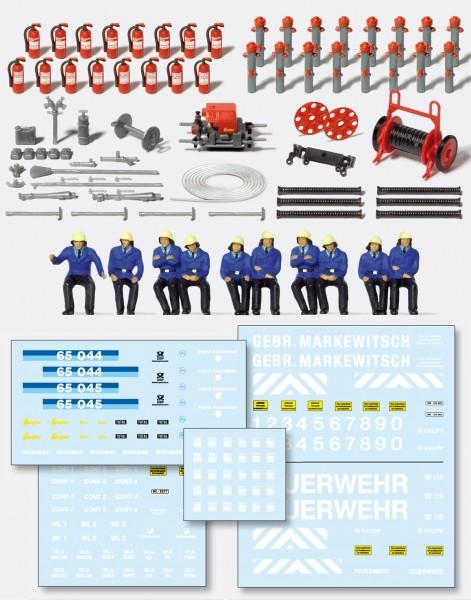 Preiser 31010 - H0 - Feuerwehr-Set