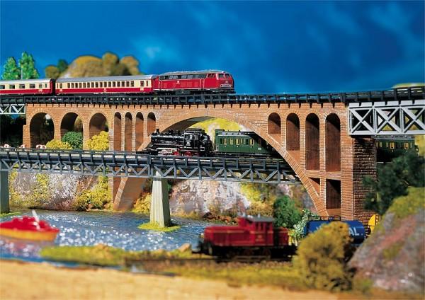 Faller 282924 - Z - Steinbogenbrücke, 220 x 25 x 88 mm