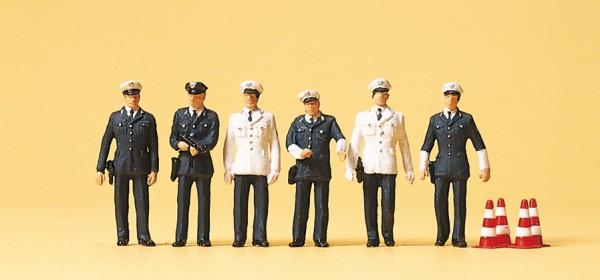 Preiser 10422 - H0 - Polizisten BRD