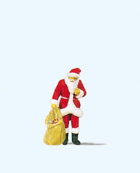 Preiser 29027 - H0 - Weihnachtsmann mit Gabensack