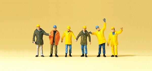Preiser 75030 - TT - Arbeiter in Schutzbekleidung