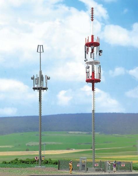 Busch 1021 - H0 - Zwei Mobilfunkmasten