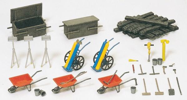 Preiser 17175 - Schweißgeräte, Werkzeugkisten
