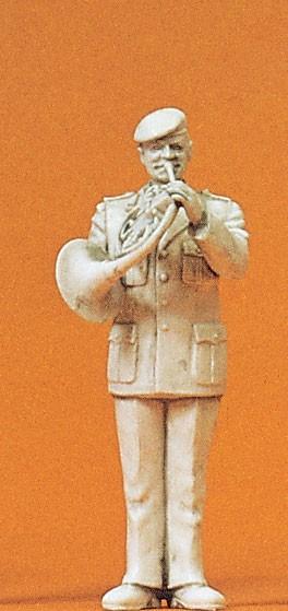 Preiser 64369 - 1:35 - Musiker mit Waldhorn
