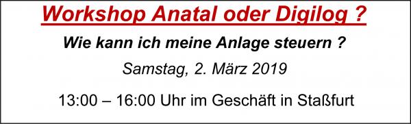 MoBaLa-Sft - Workshop 02 - Anatal oder Digilog ? am Samstag, 02.03.2019