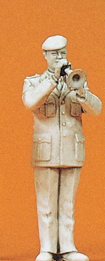 Preiser 64366 - 1:35 - Musiker mit Flügelhorn