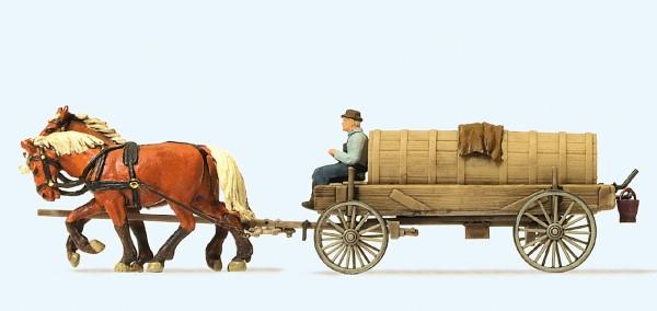 Preiser 30414 - H0 - Jauchewagen