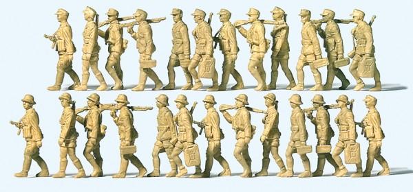 Preiser 16626 - H0 - Deutsches Afrika Korps im Marsch