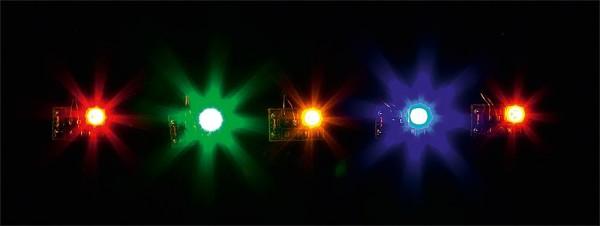 Faller 180652 - 5 LEDs, bunt gemischt