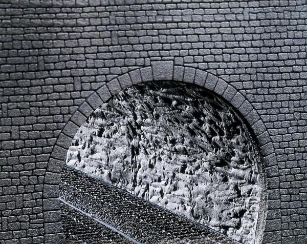 Faller 170886 - H0 - Dekorplatte Profi Tunnelröhre Felsstruktur