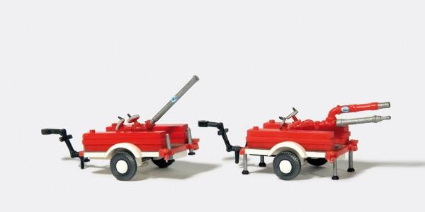 Preiser 31114 - H0 - Schaum-Wasserwerfer ALCO 2 Stück
