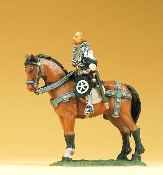 Preiser 52350 - 1:25 - Götz von Berlichingen zu Pferd