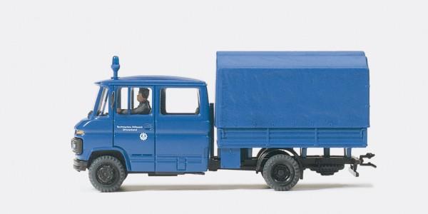 Preiser 37007 - I-Truppenwagen THW Mercedes-Benz L 407 D