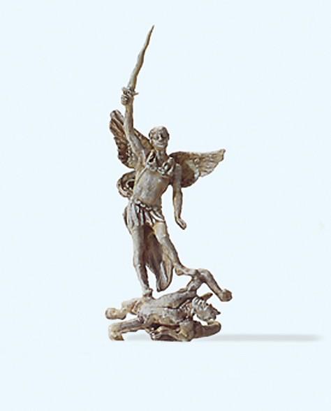 """Preiser 29100 - H0 - Statue """"Erzengel Michael"""""""