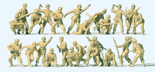 Preiser 16627 - H0 - Deutsches Afrika Korps im Gefecht