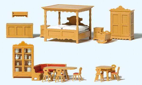 Preiser 17710 - H0 - Landhausmöbel