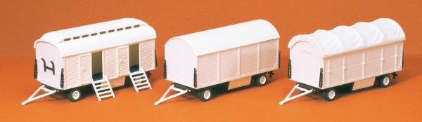 Preiser 20008 - Pack- und Toilettenwagen ohne Beschriftung