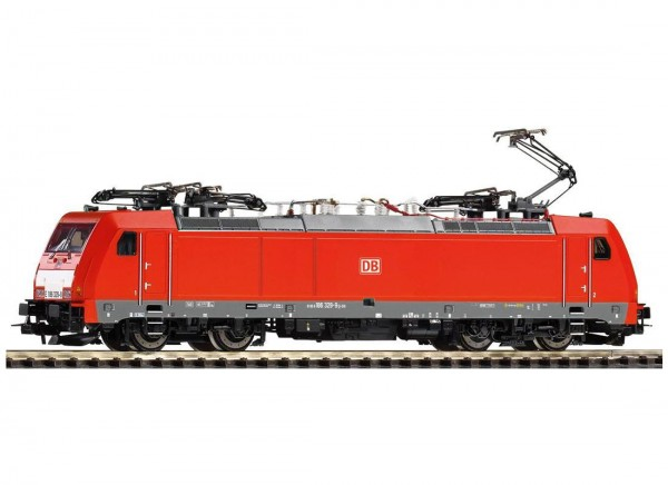 Piko 59853_(D) - H0 - ≈ E-Lok BR 186 DB AG VI + lastg. Dec.