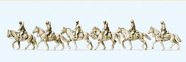 Preiser 16617 - H0 - Kavallerie aufgesessen