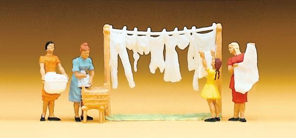 Preiser 14050 - H0 - Wäscherinnen